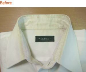 ワイシャツの襟がこんなにすごいです!